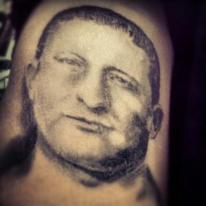 Carlo gambino tattoo. La cosa nostra.