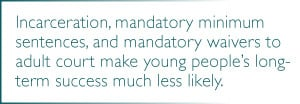 Research studies on high-risk youth show that a system in which ...