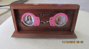 Handcuff Desk Set Picture Frame by Cuffems on Etsy, $75.00 Might as ...