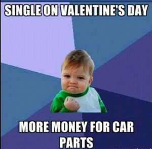 valentines funny quotes single