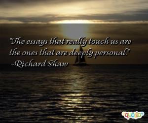 Essays Quotes