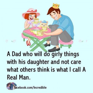 Daddy's little girl always