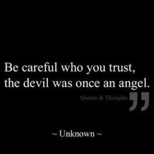 devil once an angel