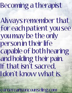 You may be the only person capable of both hearing and holding their # ...
