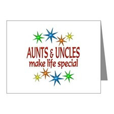 Special Aunt Uncle Note Cards (Pk of 20) for