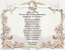 poem anniversary poems make wonderful golden wedding anniversary gifts ...