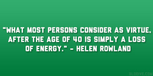 Helen Rowland Quotes