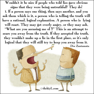 People Lying Quotes Why do people lie?