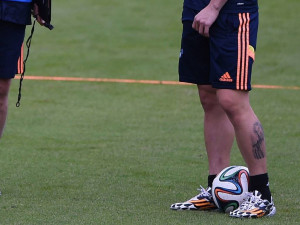 Go Back > Images For > Messi Tattoo Leg