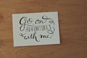 Quote, Love Quote, Typography Print, Hand lettered Quote, 5x7 Print ...