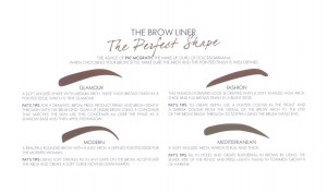 Eyebrows trends 2014: the new Dolce&Gabbana makeup Brow Liners