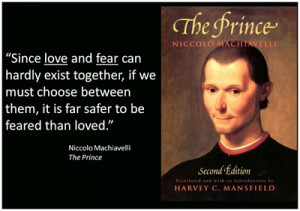few quotes from Prince Machiavelli