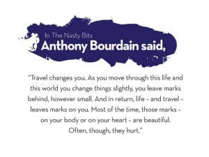 Have you ever lived abroad? For you, what is something no one ever ...