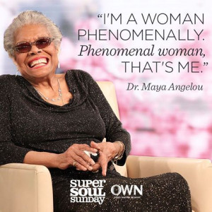 Phenomenal Woman Maya Angelou