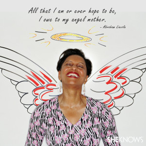 ... am or ever hope to be, I owe to my angel mother.