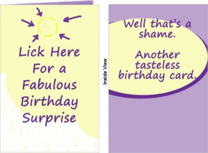 Funny Birthday Card Quotes ~ Funny Birthday Cards & Other Greeting ...