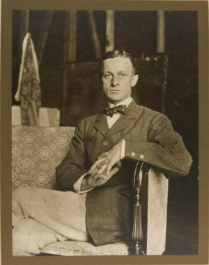 Harvey Cushing as photographed by Ida Tarbell in 1908