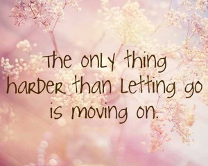 ... Letting Go