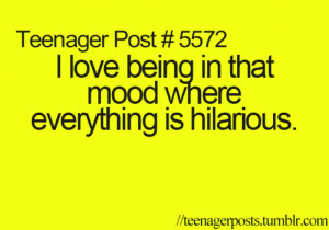 Teenager Post ..... Day : 1