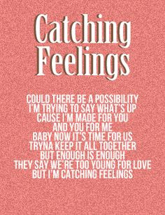 Catching Feelings-Justin Bieber