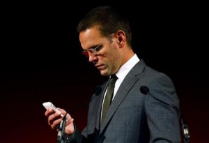 BSkyB Chairman James Murdoch, who is also head of News Corp in Europe ...
