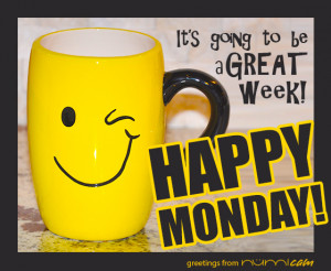 , Happy New Week! Need we say any more??? It's a brand new week ...