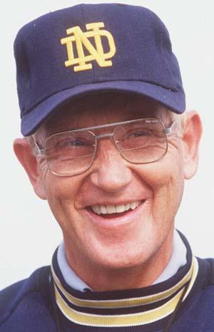 Lou Holtz, the famous Notre Dame Football coach, did a wonderful job ...
