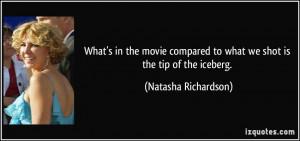 More Natasha Richardson Quotes