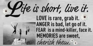 Are Sweet, Cherish Them: Quote About Memories Are Sweet Cherish ...