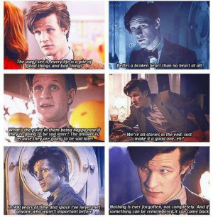 move on too but he will always be our doctor who took the tradition to ...