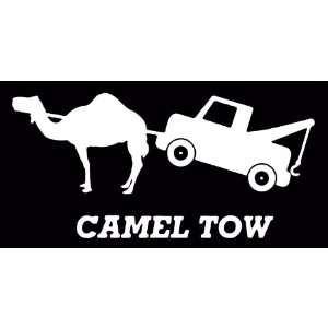 Camel Tow Truck Funny Joke Vinyl Decal Sticker CUSTOM