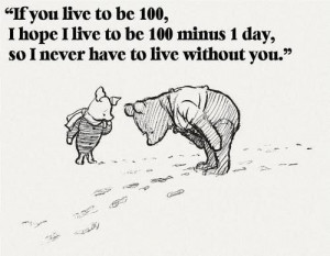 Pooh bear i love you quotes