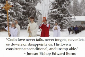 Bishop Edward Burns on Faith