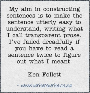 Simplicity and clarity in writing