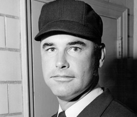 Doug Harvey Baseball Umpire