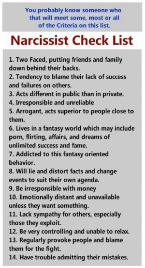 narcissistic quotes and sayings   Via Narcissistic Abuse Recovery ...