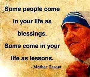 Mother Teresa's words