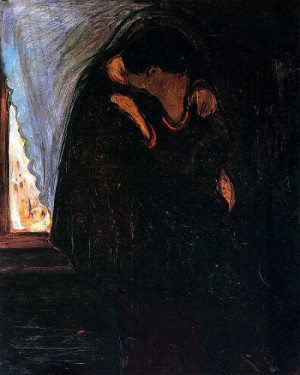 The Kiss, 1897 by Edvard Munch