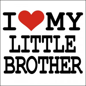 Love My Little Brother T-shirt