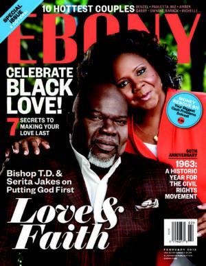 Meagan Good & Husband DeVon Franklin For 'Ebony'