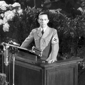 Goebbels Writes That Non-Jews Seen in Public With Jews Will Go to ...