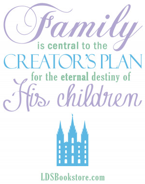 Lds Quotes On Family Lds bookstore images