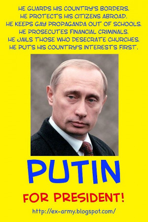 """Putin for President"""" search gets 115 million results"""