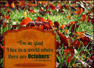 October Quotes Montgomery october quote
