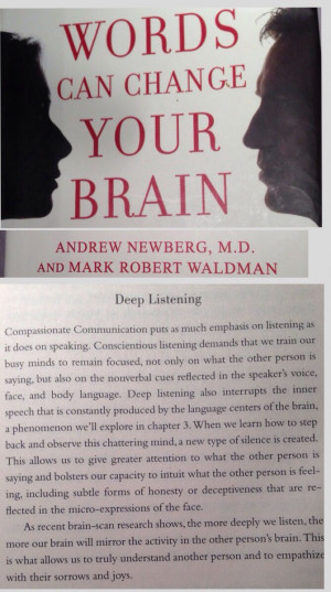 The first step to a meaningful conversation: Deep listening: remained ...