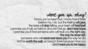 ignore you dont give up w dont give up on me quotes tumblr