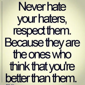 Haters alixoxox:#truth #quotes #inspirational #haters #hatersgonnahate ...