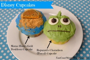 chameleon pascal cupcakes and mama hook s gold doubloon cupcakes