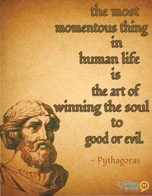 Famous pythagoras Quotes