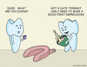 funny dental cartoons